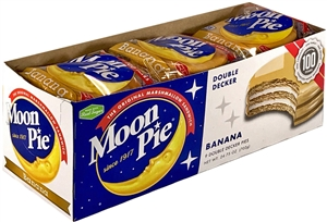 Moonpies Banana Double Decker Sandwich - 2.75 oz.