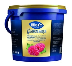 Hero Raspberry Jam Pail - 9.37 lb.