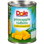 Pineapple Tidbits in Juice - 20 Oz.
