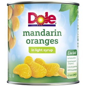 Mandarin Orange In Light Syrup - 11 oz.