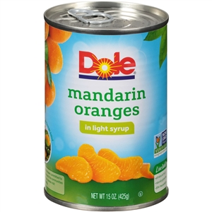 Mandarin Orange In Light Syrup - 15 Oz.