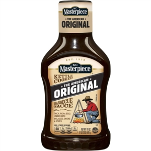 K C Masterpiece Original Barbecue Sauce - 18 oz.