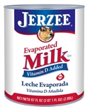 Jerzee Evaporated Milk - 97 Oz.
