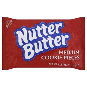 Nutterbutter Cookie Pieces Medium Crunch - 1 Lb.