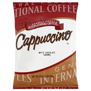 White Chocolate Caramel Instant Coffee Drink - 12 lb.