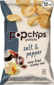 Popchips Salt and Pepper Chips - 3.5 oz.