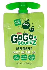 Gogo Squeez Apple Apple Sauce 48 Pouch