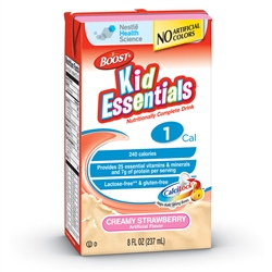 Boost Essentials Creamy Strawberry Tetra Brik Kid - 8 fl.oz.