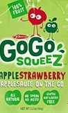 Gogo Squeez Apple Strawberry Shelf Tray