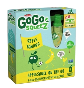 Gogo Squeez Apple Banana