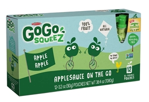 Gogo Squeez Apple Apple 12 Pouch