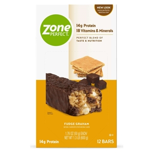 Zoneperfect Classic Fudge Graham Nutrition Bar - 1.76 oz.