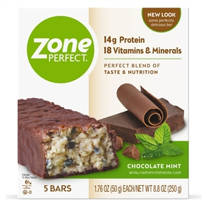 Zoneperfect Chocolate Mint Nutrition Bar - 1.76 oz.