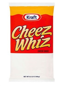 Cheeze Whiz Cheese Sauce Original Pouch - 6.5 Lb.