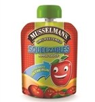 Musselmans Squeezable Unsweetened Apple Sauce - 3.17 oz.