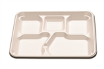 5 Compartment Enviroware Foam Tray