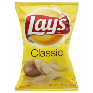 Lays Regular Single Serve Potato Chip - 1.5 oz.