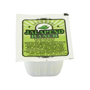 House Blend Low Sodium Jalapeno Ranch Cup - 1 Oz.