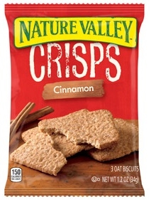 Nature Valley Crisp Cinnamon - 1.2 oz.