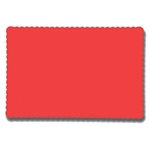 Solid Econo Red Placemat