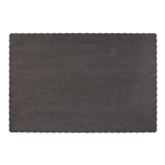 Solid Econo Black Placemat
