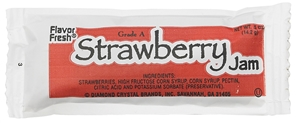 Strawberry Jam Jelly Pouch - 0.5 Oz.