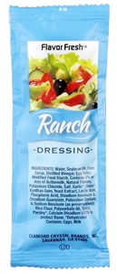 Flavor Fresh Low Sodium Ranch Dressing Pouch - 12 Grm.
