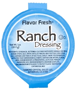 Ranch Dressing Cups - 1 Oz.