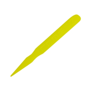 Plastic Yellow Medium Well Steak Marker