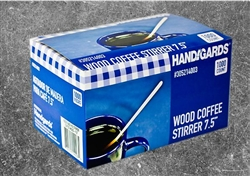 Coffee Wood Stirrer - 7.5 in.