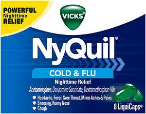 Nyquil Liquid Caps