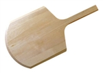 Pizza Short Handle Wood Peel - 12 in. x 13 in.