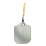 Aluminum Blade Pizza Peel with Wood Handle - 12 in. x 14 in.