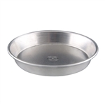 Aluminum Tapered Nesting Solid 18 Gauge Pizza Pan - 14 in.