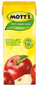 Motts 100 Percent Apple Juice - 6.75 Fl.oz.