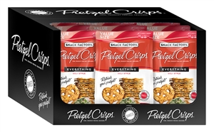 Pretzel Crisps Everything - 14 Oz.