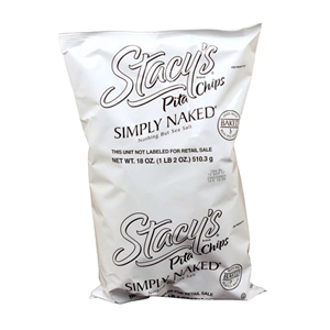 Stacys Simply Naked Pita Chips - 18 Oz.