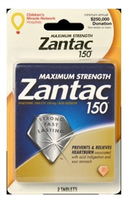Zantac 2 Doses 150 Tablet