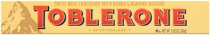Toblerone Milk Chocolate Bar - 3.52 oz.