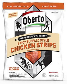 Spicy Buffalo Style Chicken Strips - 3 Oz.