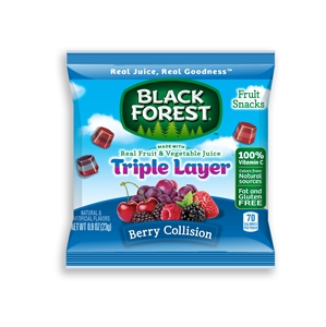 Black Forest Berry Triple Layer Fruit Snack - 0.8 oz.