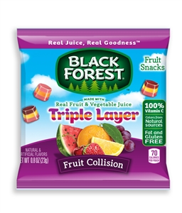 Black Forest Triple Layer Fruit Snack - 0.8 oz.