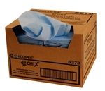 Foodservice Towel Blue with Blue Print - 12 in. x 21 in.