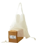 White Plain Bib Treated Apron - 27.5 in. x 31.5 in.