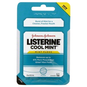Listerine Cool Mint Floss 55 Yard