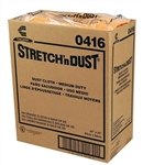 Yellow and Orange Dot Dust Cloth - 24 in. x 24 in.
