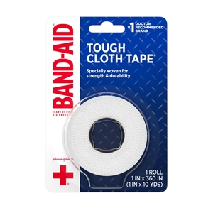 Band Aid Cloth Tape - 1 in. x 10 Yds.