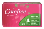 Carefree Original Pantiliners Regular To Go Unscented with Baking Soda