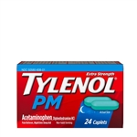 Tylenol Pm Extra Strength Caplets 72 Boxes of 24 Caplets
