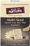 Gluten Free Rice Thin Multi Seed Crackers - 4 oz.